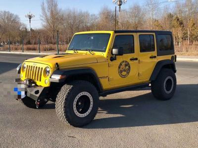 Jeep 牧马人  2013款 3.6L Rubicon 四门版