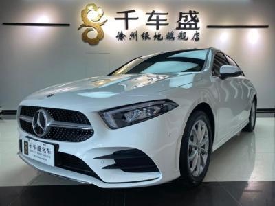 2020年11月 奔驰 奔驰A级 改款 A 200 L 运动轿车时尚型图片