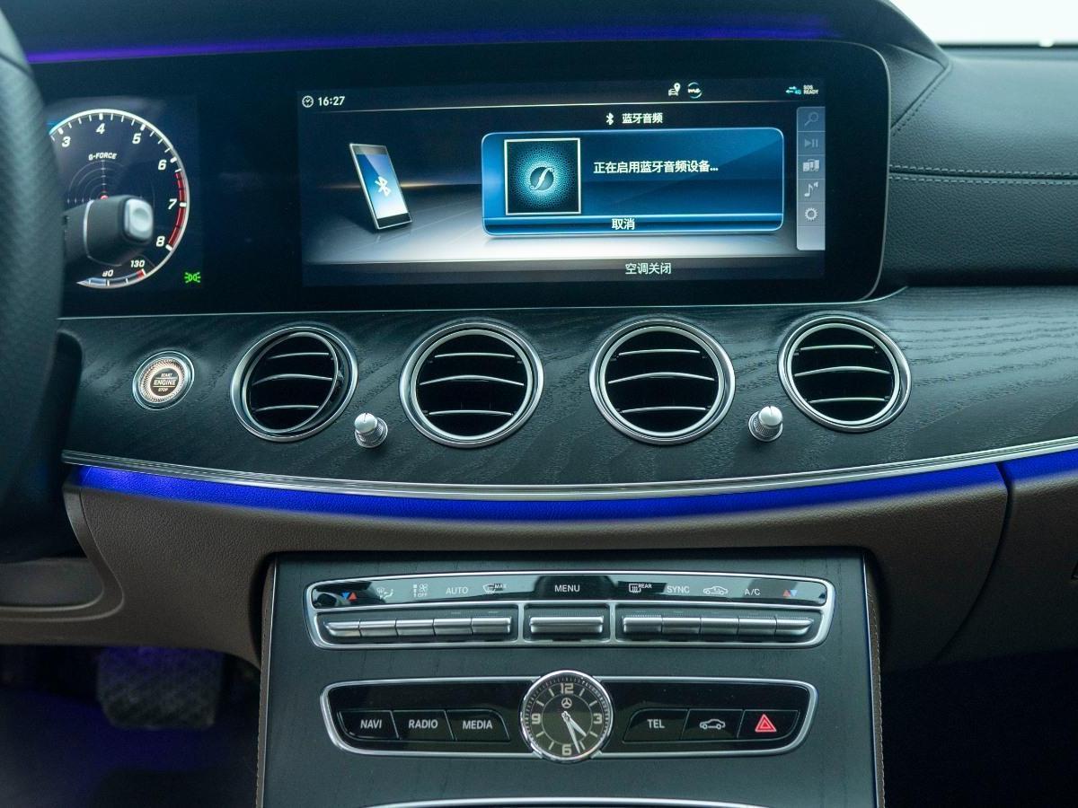 奔驰 奔驰E级  2018款 改款 E 300 L 运动时尚型图片