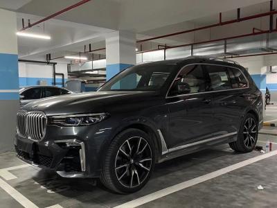2019年9月 宝马 宝马X7(进口) xDrive40i 行政型M运动套装图片