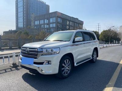 2019年8月 丰田兰德酷路泽 5.7L  VX-R 12气 无底升(中东)图片