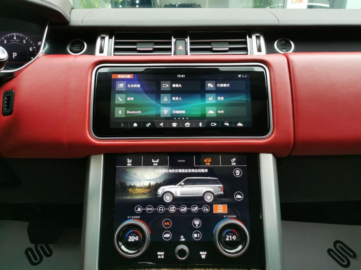 路虎 揽胜  2019款 3.0 V6 SC 尊崇创世加长版图片