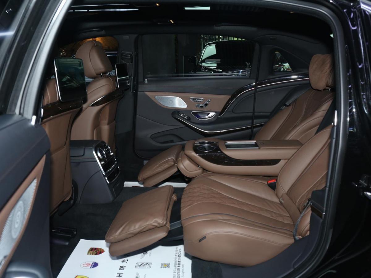 奔驰 迈巴赫S级  2019款 S 450 4MATIC图片