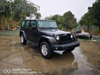 2012年1月 Jeep 牧马人 3.8 四门 Sahara图片