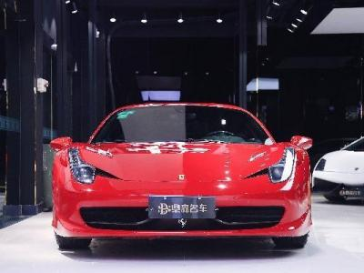 2011年1月 法拉利 458 4.5L Coupe图片