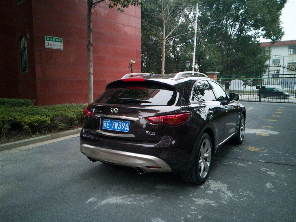 【上海】2013年4月英菲尼迪fx2011款fx35金尚超越版自动档致胜一次加多少机油图片