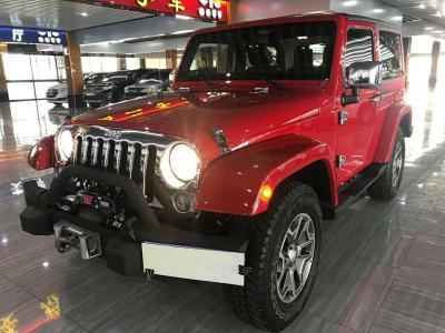 Jeep 牧马人  2013款 3.6L 两门