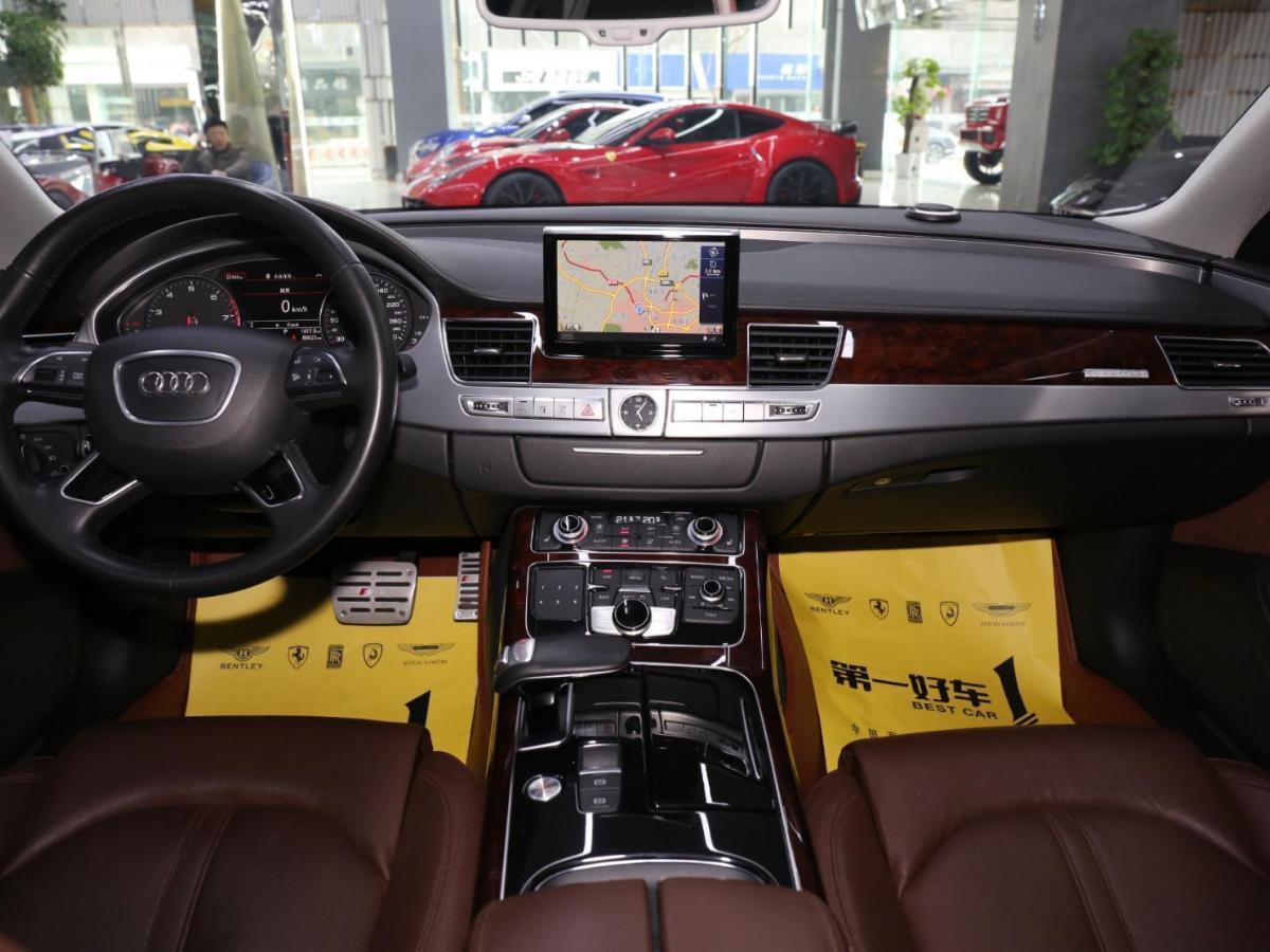 奥迪 奥迪A8  2014款 A8L 45TFSI quattro 舒适型图片