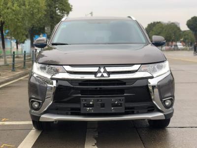 三菱 歐藍德  2018款 2.0L CVT兩驅榮耀版