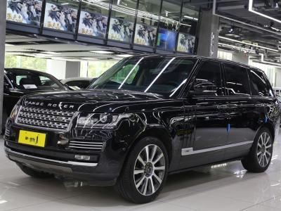 路虎 揽胜行政版  2017款 5.0T SC AB 尊崇创世加长版 汽油型