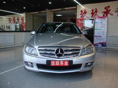 奔驰 C级  2010款 C200K 1.8T 时尚型