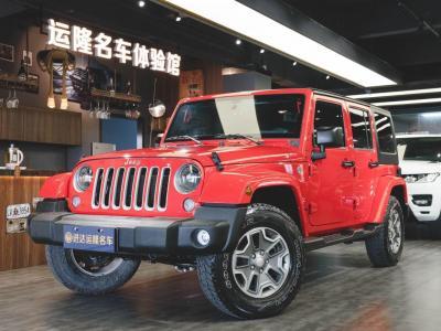 2018年4月 Jeep 牧马人  3.0L 四门 舒享版图片