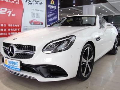 奔驰 奔驰SLC级  2016款 SLC 200 时尚型?#35745;?/>                         <div class=