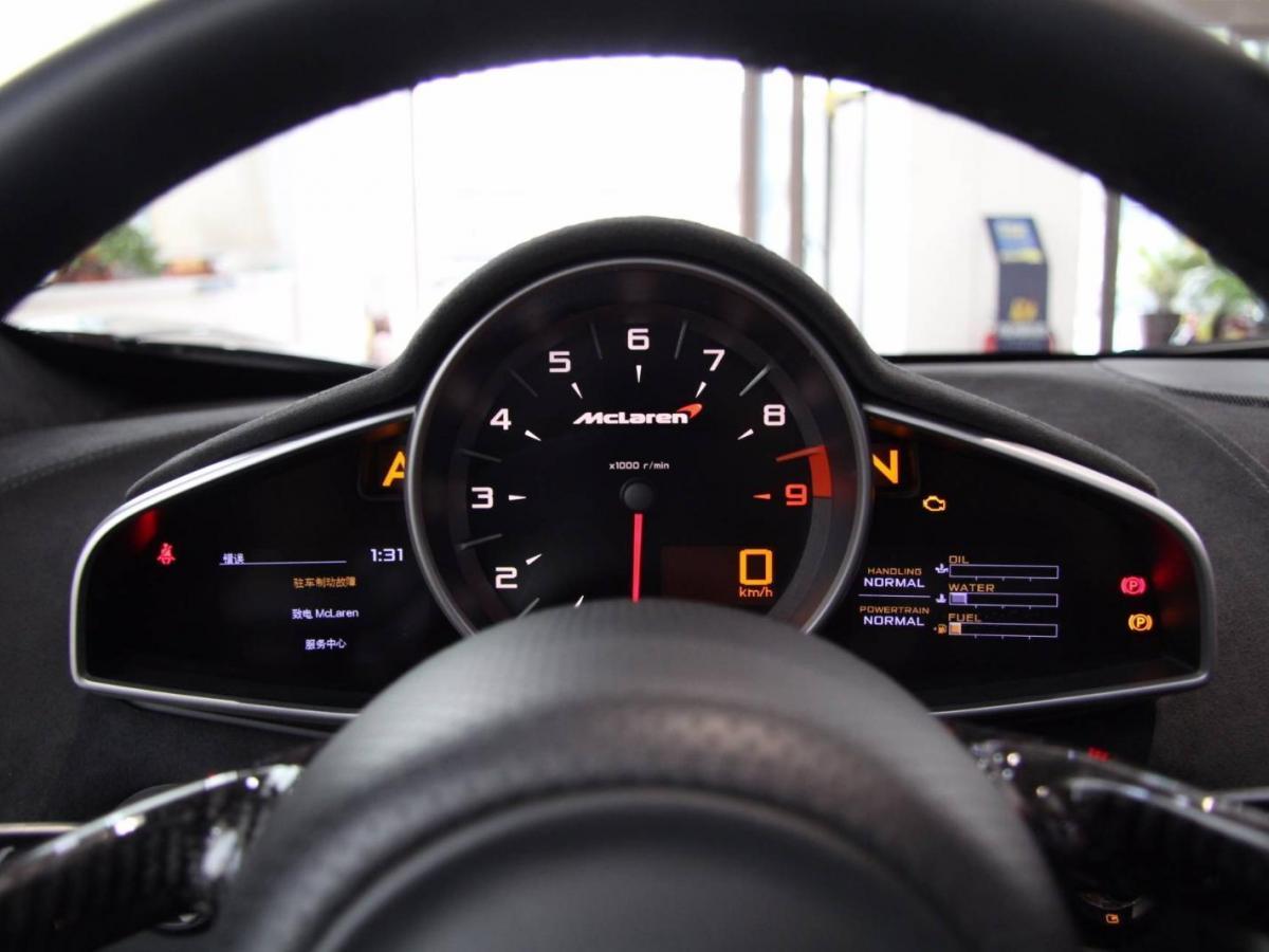 迈凯伦 650S  2014款 3.8T Spider图片