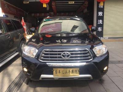 丰田 汉兰达 3.5 四驱7座至尊版