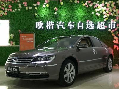 2012年2月 大众 辉腾(进口) 3.6L V6 5座加长舒适版图片