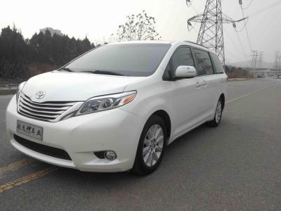 2016年6月 丰田 塞纳(进口) 2015款 3.5L 四驱 Limited限量 汽油 美规版图片
