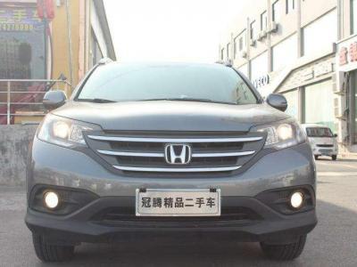 本田 CR-V  2013款 2.4L 四驅豪華版