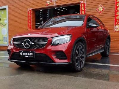 2017款 奔驰GLC(进口) GLC 300 4MATIC 轿跑SUV图片