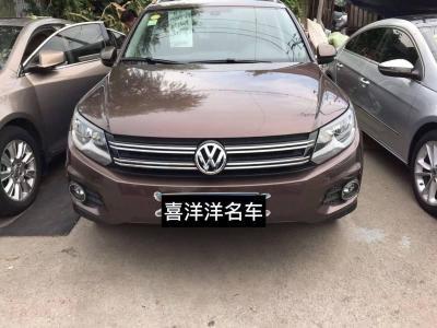 2012年11月 大众 Tiguan(进口) 2.0TSI 舒适版图片