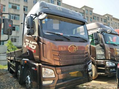 解放jH6前四后八平板货车,国五排放图片