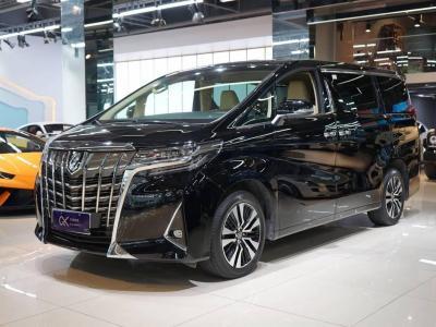 2019年2月 丰田 埃尔法  改款 3.5L 豪华版图片