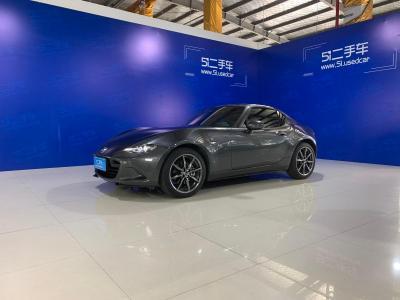 2018年11月 马自达 MX-5(进口) 2.0L RF 铂钢灰图片