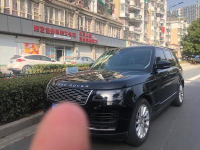 2018年5月 路虎 揽胜(进口) 3.0 V6 SC Vogue 传世版图片