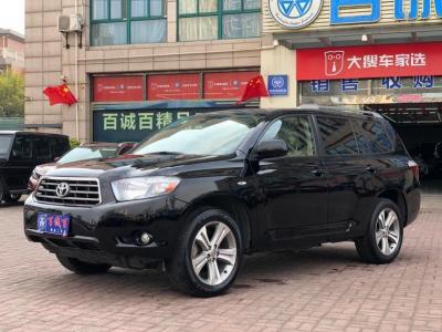 2010年4月 丰田 汉兰达  3.5L 四驱7座豪华版图片