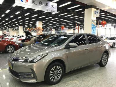 2018年1月 丰田 卡罗拉  改款 1.2T S-CVT GL图片