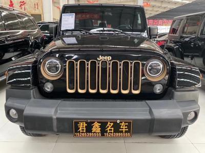 2014年6月 Jeep 牧马人(进口) 3.6L 龙腾典藏版图片