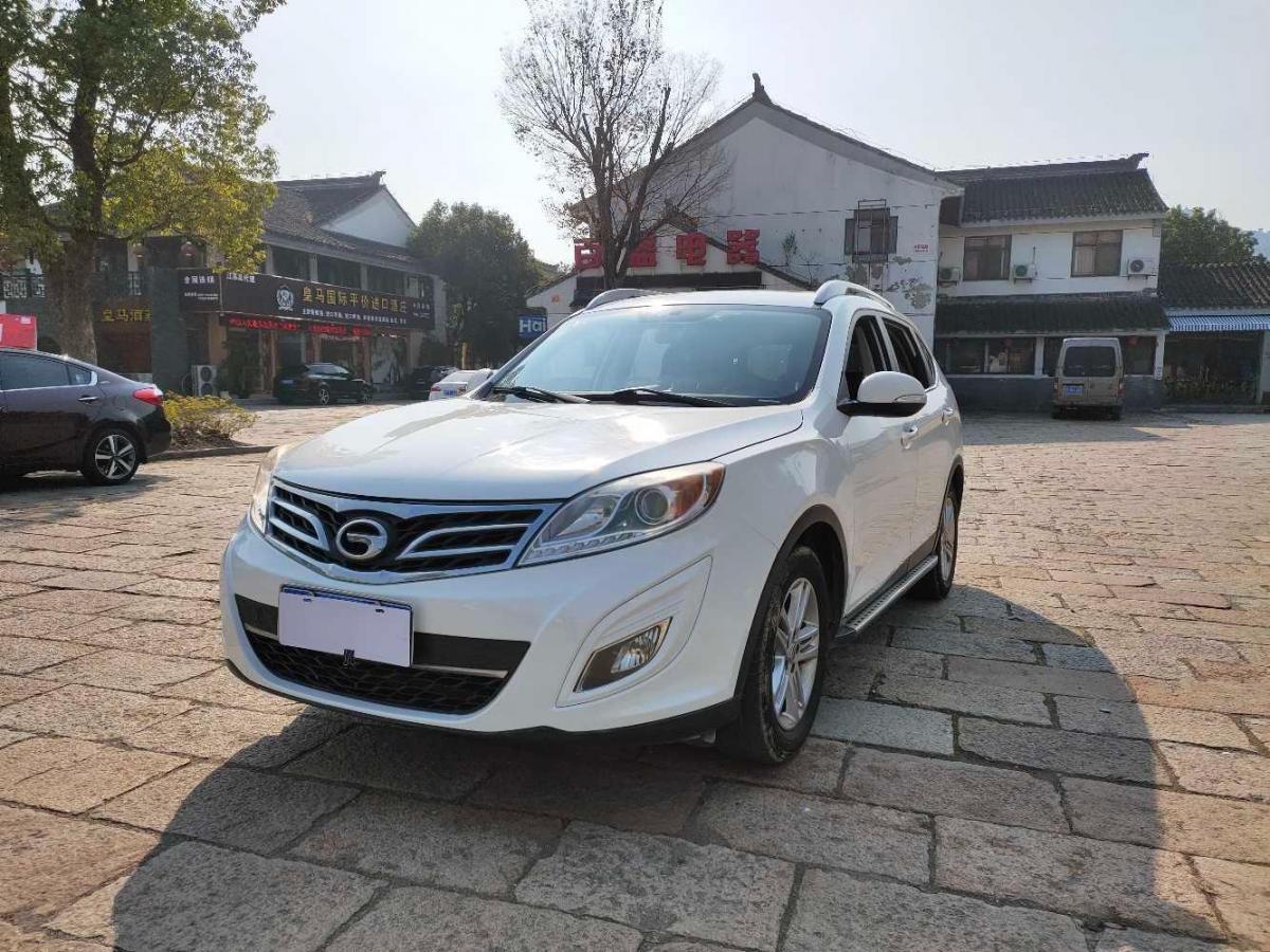 2012年6月 广汽传祺 GS5 2.0L 自动两驱尊贵版