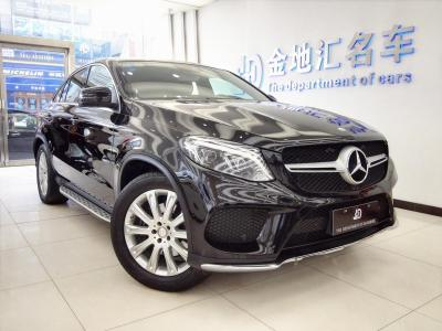 奔馳 奔馳GLE  2015款 GLE 320 4MATIC 轎跑SUV圖片