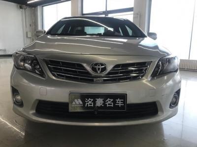 2013年6月 丰田 卡罗拉 特装版 1.6L 手动炫酷型GL图片