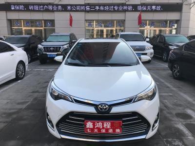2017年8月 丰田 雷凌 改款 185T CVT精英版 国V图片