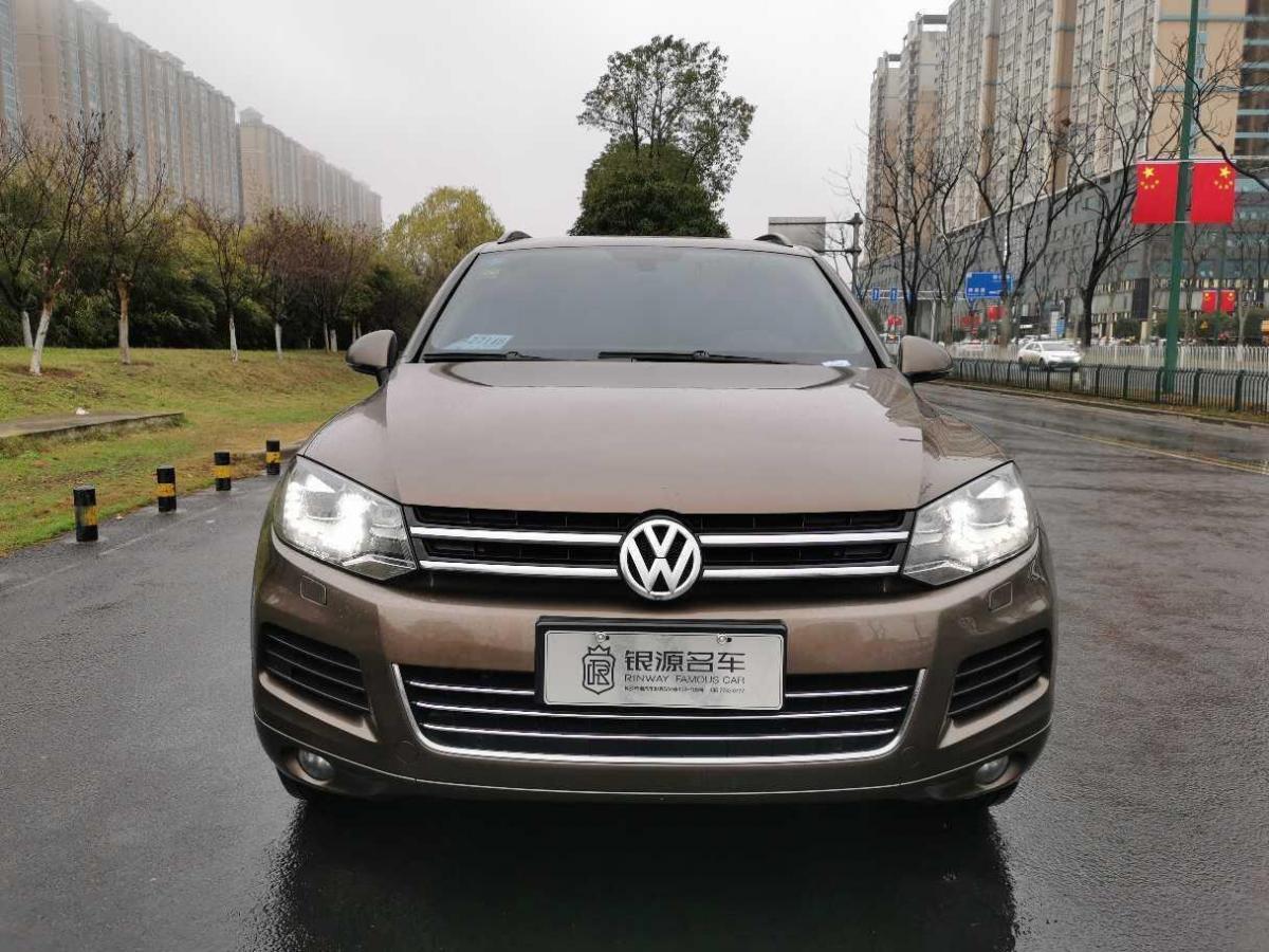 2012年11月 大众 途锐(进口) 3.0TDI 柴油豪华型图片