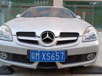 奔馳 奔馳SLK級  2009款 SLK 200K