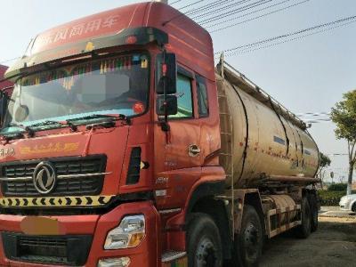 东风天龙水泥罐车,国四排放图片