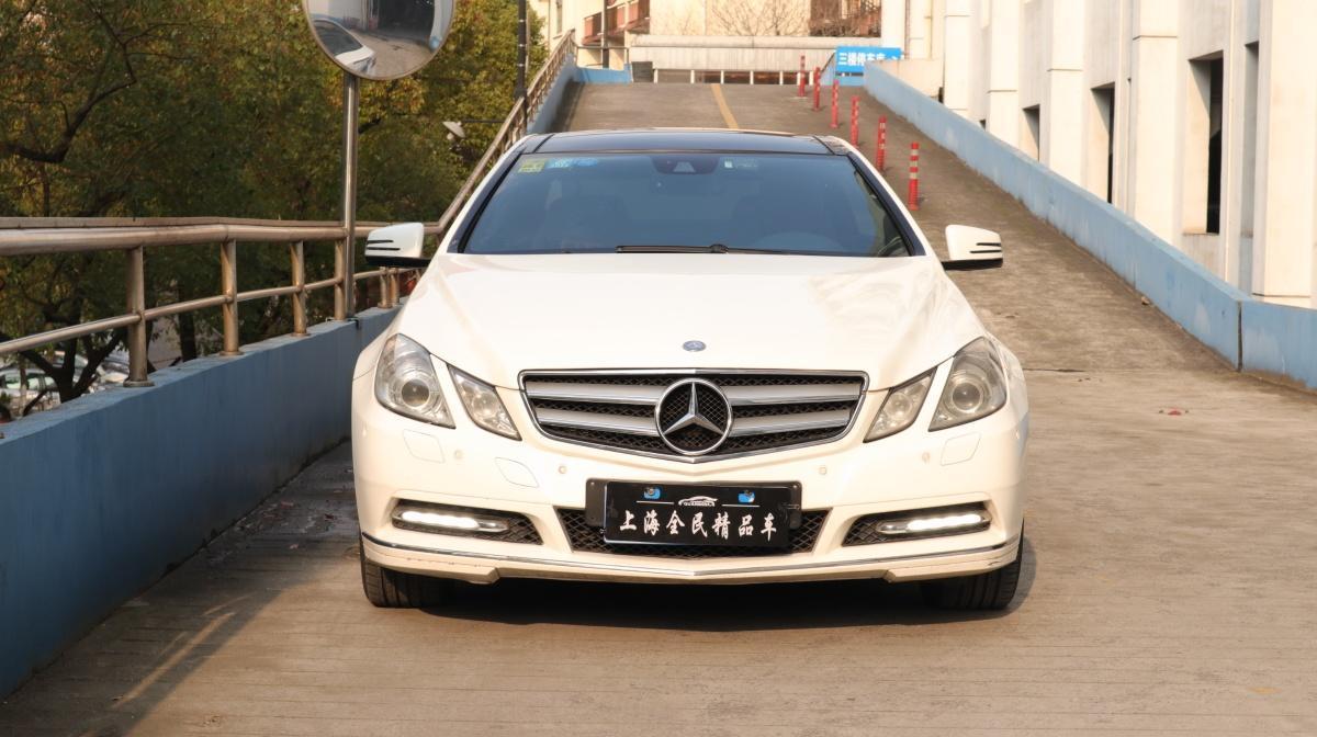 2011年4月_出售二手车奔驰 奔驰E级  2010款 E 260 CGI Coupe哪里有卖_价格多少13.8万