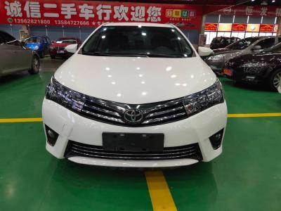 豐田 卡羅拉  2014款 1.6L CVT GL-i真皮版