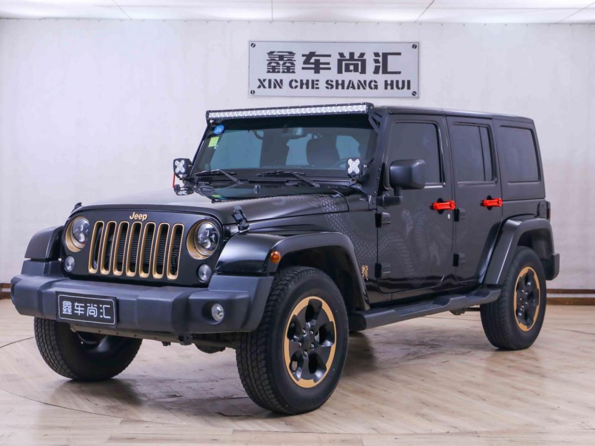 2014年7月 Jeep 牧马人(进口) 3.6L 四门 龙腾典藏版图片