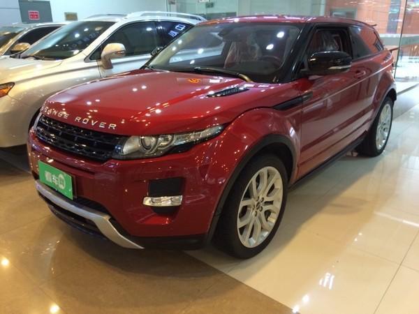 【福州】2012年4月 路虎 揽胜极光 coupe 2.0t 耀动版 红色 自动档