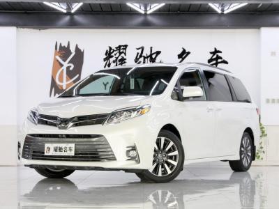 2019年9月 豐田 塞納(進口) 3.5L 四驅L圖片