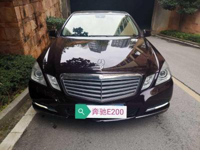 奔馳 奔馳E級  2012款 E 200 L CGI優雅型圖片