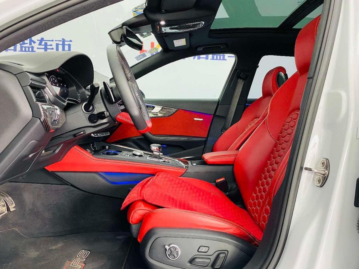 奥迪 奥迪RS 4  2019款 RS 4 2.9T Avant图片