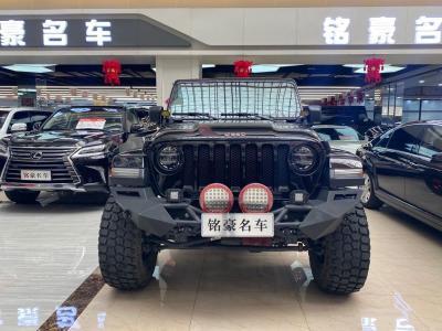 Jeep 牧马人  2019款 2.0T Sahara 四门电动敞篷版 国VI