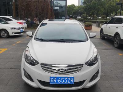 现代 朗动  2013款 1.6L 自动尊贵型