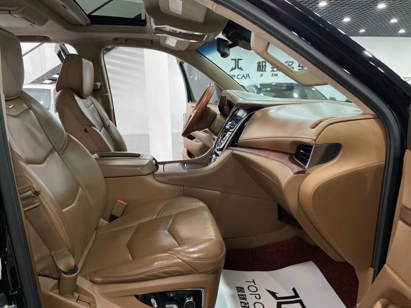 凯迪拉克 凯雷德ESCALADE  2017款 6.2L ESV铂金版加长型图片