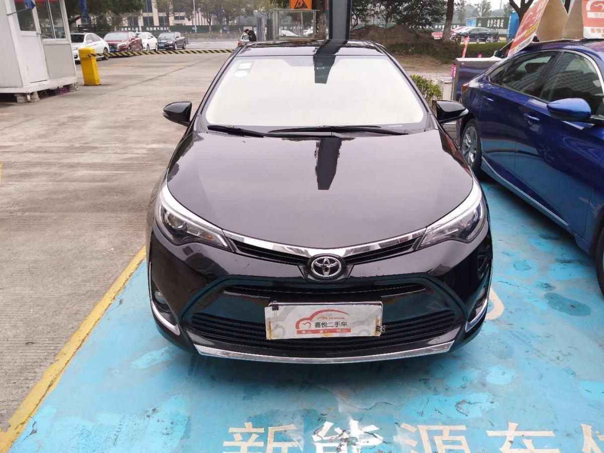 丰田 雷凌  2017款 改款 185T CVT精英版 国V图片