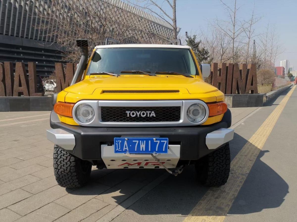 丰田 FJ 酷路泽  2007款 4.0L图片